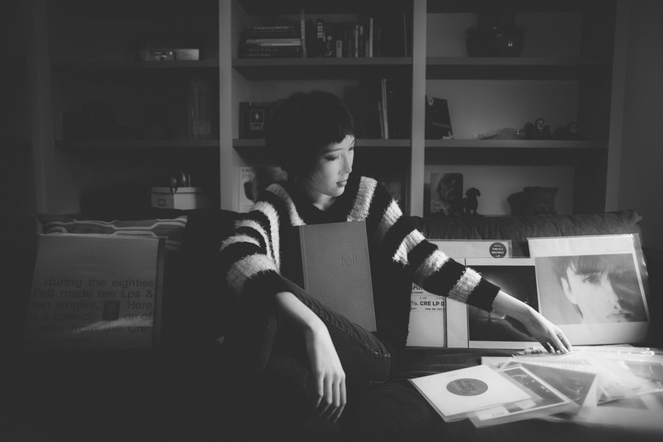 Me & My Felt Records in My Room