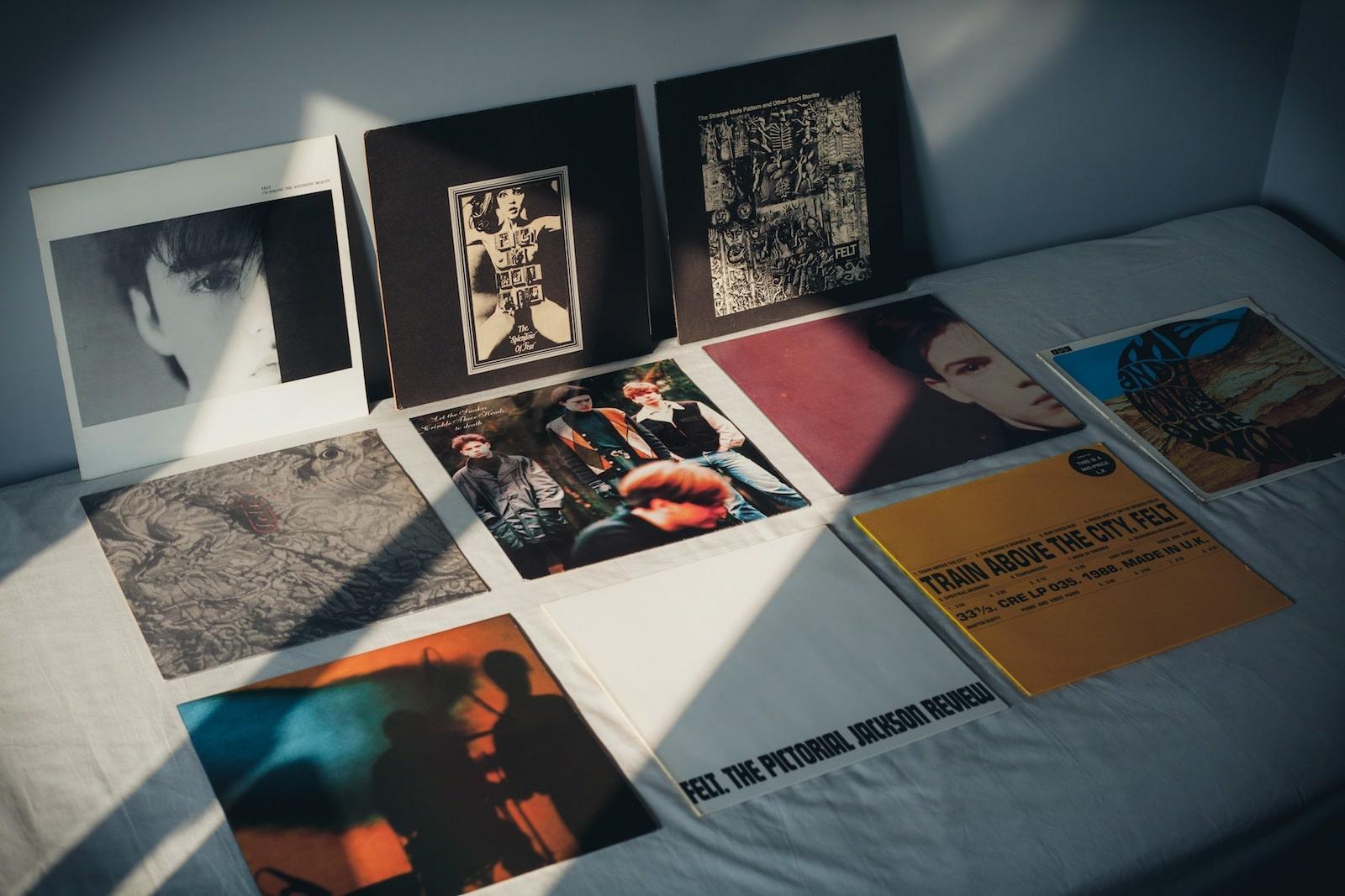 Felt Vinyl Records